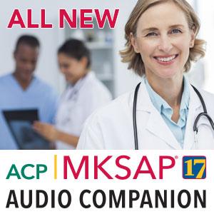 MKSAP 17 Audio Companion 2015 - MP3 + PDF